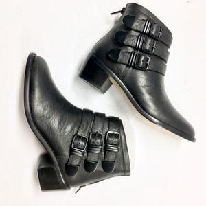 LOEFFLER RANDALL Leather Fenton Ankle Boot